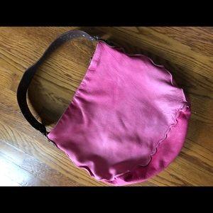 Tylie Malibu pink leather hand bag